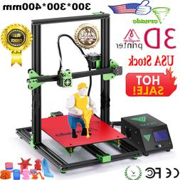 2018 TEVO Tornado 3D Printer Full  Assembled 300*300*400mm L