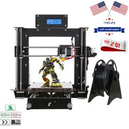 2019 3D Printer Prusa i3 Reprap + MK8 Extruder, MK3 Heatbed,
