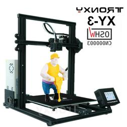 TRONXY XY-3 Resume Printing 3D Printer Magnetic Hot Bed Stic