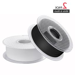 2Pcs Lot 3D Printer Filament 1.75mm PLA For Anycubic Crealit