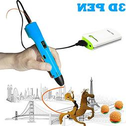3D Pen For Kids ,Newest 3D Printing Pen Compatible ABS PLA F
