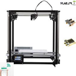 Flsun 3D Printer Auto Leveling Color Touch Dual Extruder & W