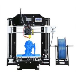 ALUNAR 3D Printer DIY Reprap Prusa I3 Kit Self-Assembly Desk