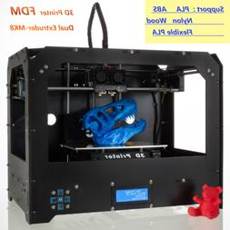 3D printer FDM Dual-Extruder MK8 Desktop Rapid Prototyping H