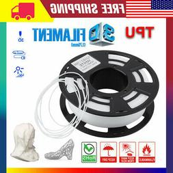 3D Printer Filament Flexible TPU Rubber White 1.75mm for 3d