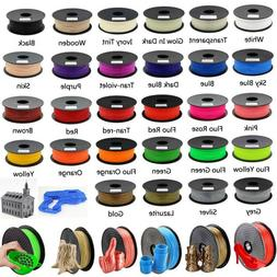 3D Printer Filament PLA ABS 1.75mm 1kg 2.2lb For RepRap Make