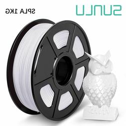 SUNLU 3D Printer Filament SPLA 1.75mm 1KG/2.2lb Spool Good m