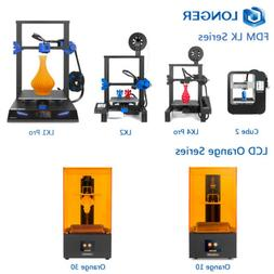 Longer 3D Printer LK4 Pro / LK1 / LK2 / Cube 2 FDM + Orange