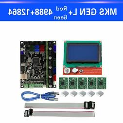 3D Printer Part MKS GEN L Motherboard 12864 Display Controll