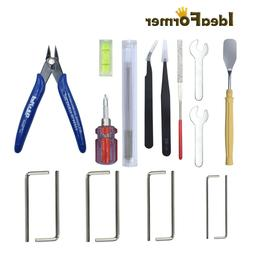 3D Printer Parts DIY Tools Level/Wrench/Tweezers/ Shovel/Noz