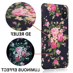 3d printer retro floral flower case rubber