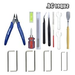 3D Printer Tools set Nozzle Cleaning Kit Tweezers Shovel Wre