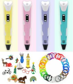 3D Printing Drawing Pen Crafting Modeling PLA Arts Doodle Pr