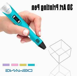 DEWANG 3D Printing Pen 2nd Crafting Doodle Printer Drawing A