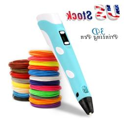 3D Printing Pen Crafting Doodle Drawing Printer Modeling PLA