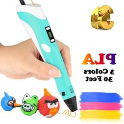 3D Printing Pen Doodler Drawing Printing Pen Present Toys Fo