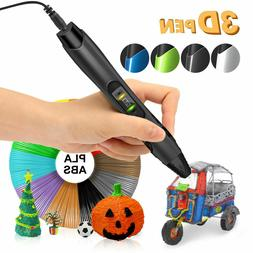 SUNLU 3D Printing Pen PLA ABS With LCD Screen Mutiple Speed