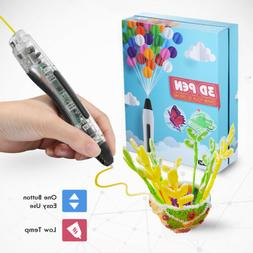 3D Stereoscopic Printing Pen Doodler PCL 20PCS Filament Arts