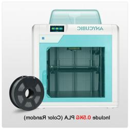 ANYCUBIC 4MAX Pro 3D Printer LCD Safely Design Ultrabase 270