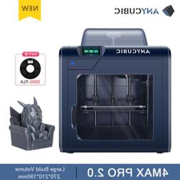 ANYCUBIC 4Max Pro 2.0 DIY FDM 3D Printer with Large Build Vo