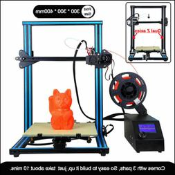 A10S 3D Printer Aluminum Prusa I3 Upgrade Dual Z axis double