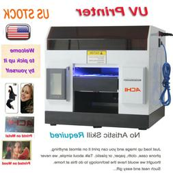 A4 UV Printer 6 Color for Phone case/cover Glass Metal Wood