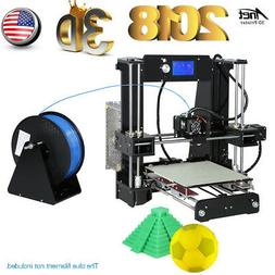 Anet A6 3D Printer Precision Desktop Reprap i3 DIY Kit+ LCD+