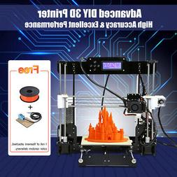 Anet A8 Auto Level 3D Printer DIY Reprap Filament 8G SD Card