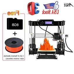 Anet A8 Desktop 3D Printer 220*220*240mm with 8GB TF Card+ 1