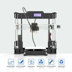Anet A8 DIY 3D Printer with 220x220x240mm build plate, direc