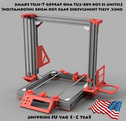 A8 Metal frame 3D printer AM8 t-slot frame kit extrusion PD-