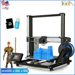 Anet A8 Plus Upgraded High-precision DIY 3D Printer Self-ass