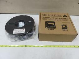 afinia value line black abs filament