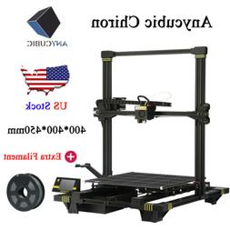 Anycubic Chiron 3D Printer Oversized Upgraded 3.5inch TFT He