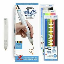 3Doodler Create+ 3D Pen Set with 75 Filaments , Quartz Grey,