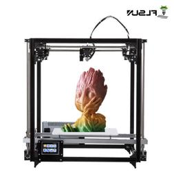 Flsun Cube 3D Printer+3.2'' Color Touch Screen Double Extrud