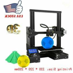 Creality 3D Ender-3 3D Printer High-precision DIY Kits Resum