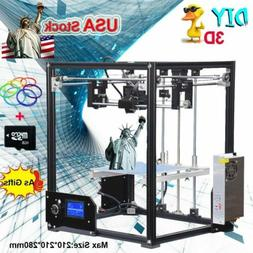 High-Precision Tronxy X5 3D Printer Upgrade DIY Kit Full Alu