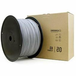 "Hips Filament For 3D Printers 3mm  5kg, Gray Industrial "" Sc"