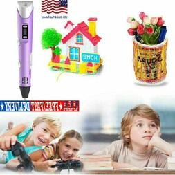 For Kids 3D Printing Pen Crafting Doodle Drawing Arts Printe