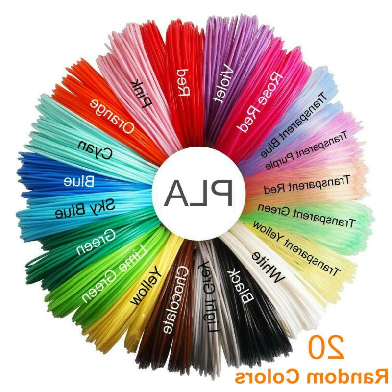 20 colors 3d pen filament refills 1