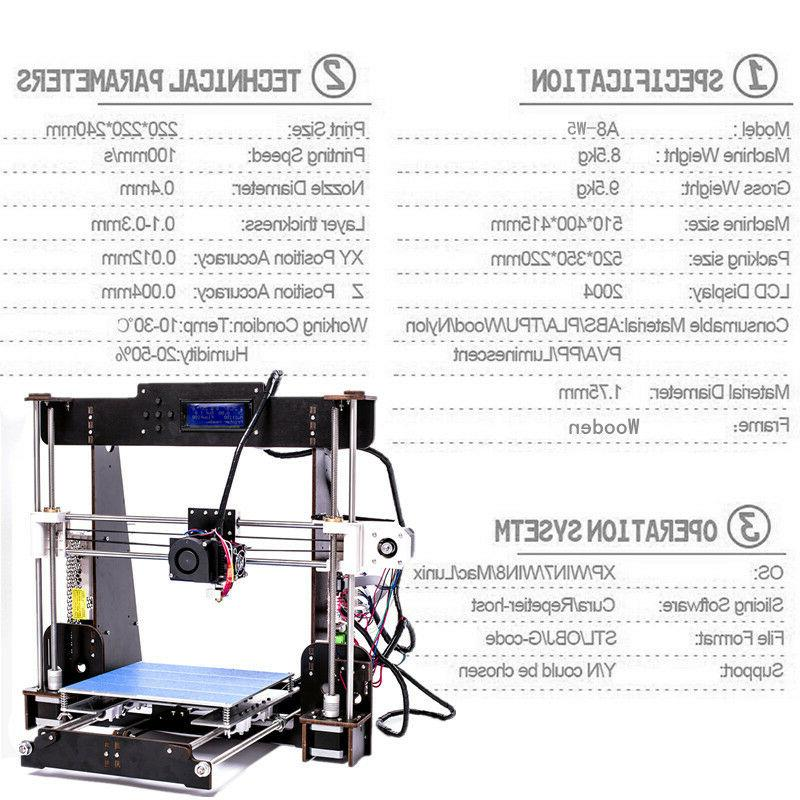 2019 CTC A8 Printer Prusa Upgraded Precision Resume