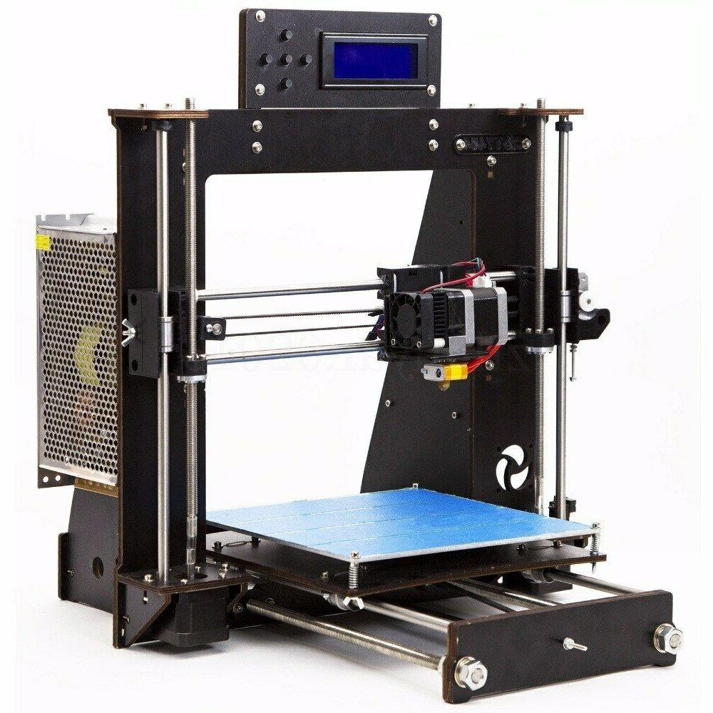 2019 Quality High Precision Reprap i3 DIY 3D MK8 LCD