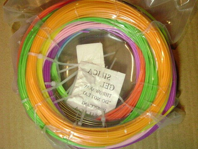 3D Printer Filament 1.75mm 20 - Meters Each Color