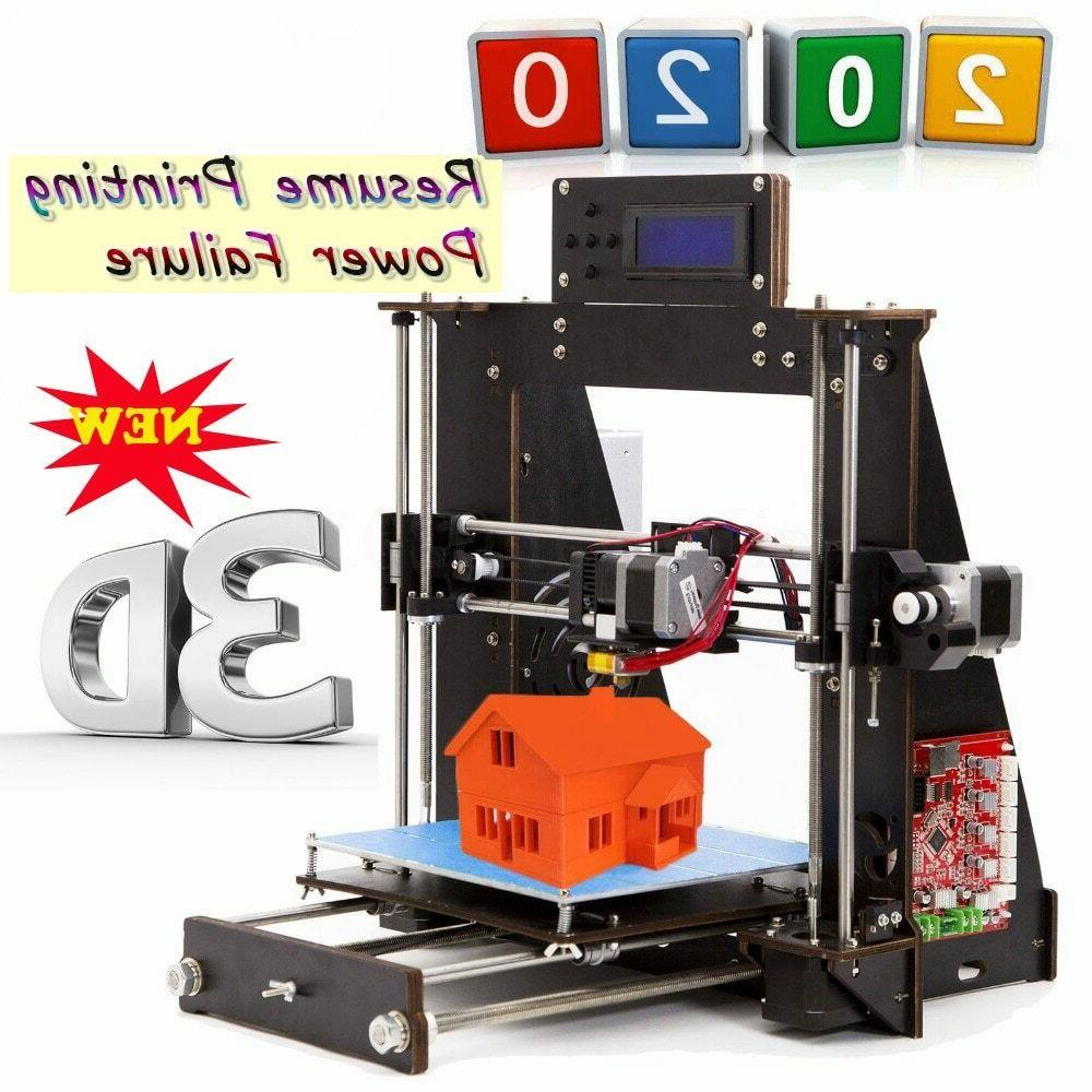 3d printer 2019 upgraded full quality high