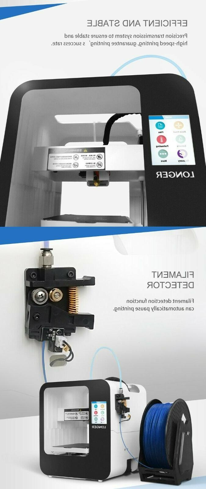 Touch Screen Printer Cube by Longer | FDM; Fully