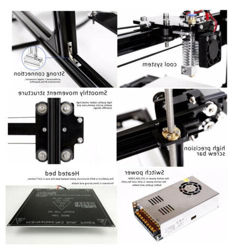 Flsun Large Size Touch Dual Extruder