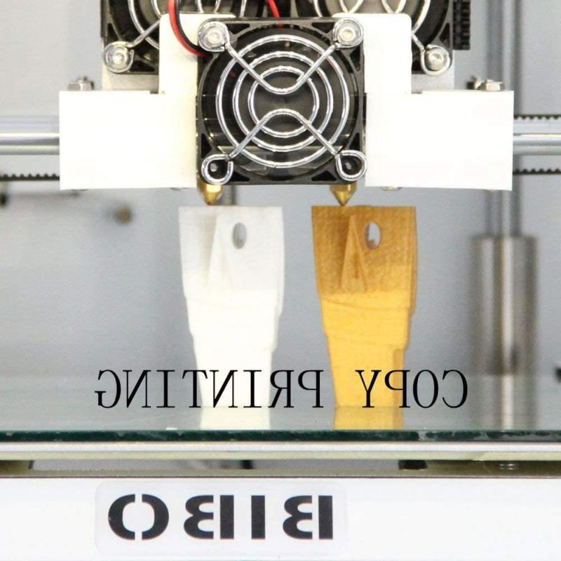 BIBO 3D Extruder Touch Screen Cut Printing Time