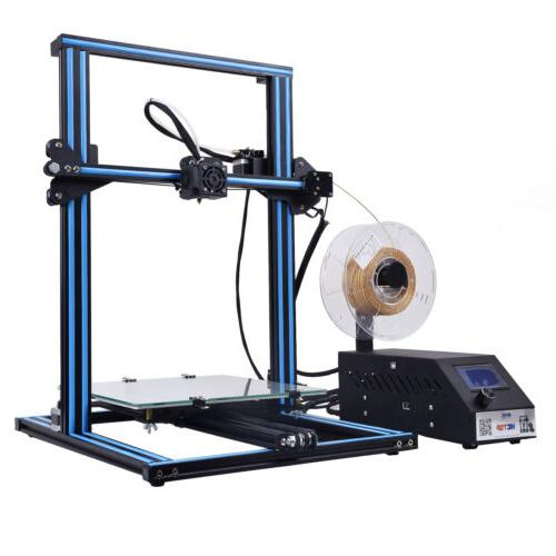 3D Printer HICTOP Dual Z axis Kit Assembled Size