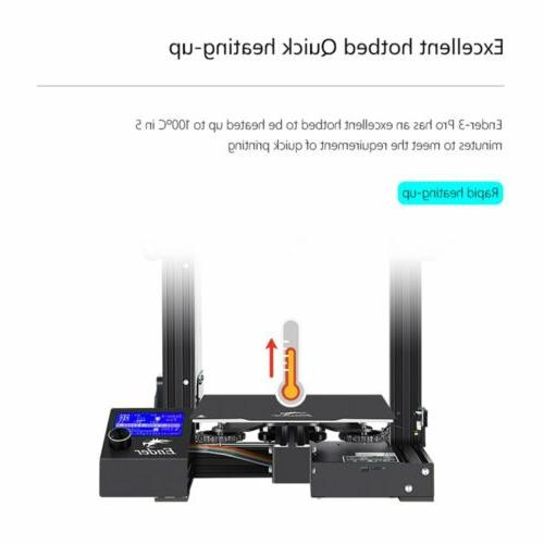 Creality Ender 3 Pro 3D Printer MeanWell Power Thermal